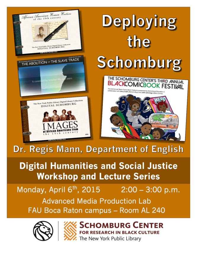 Deploying the Digital Schomburg