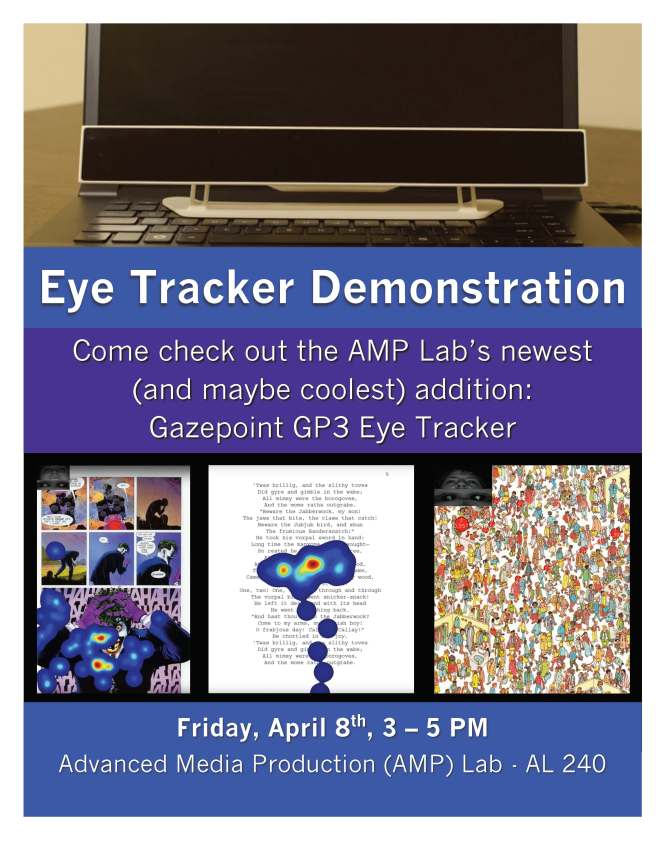 Eye Tracker Demo Flyer