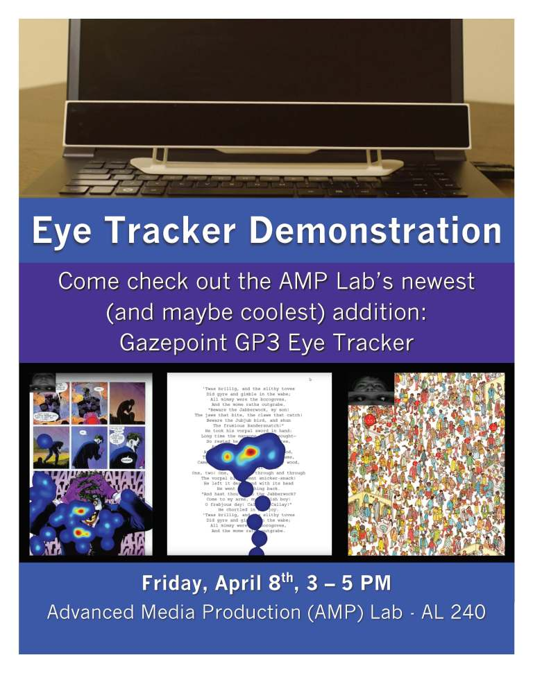 Eye Tracker Demo Flyer
